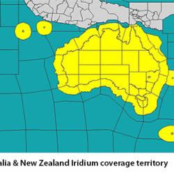 Iridium coverage Australia